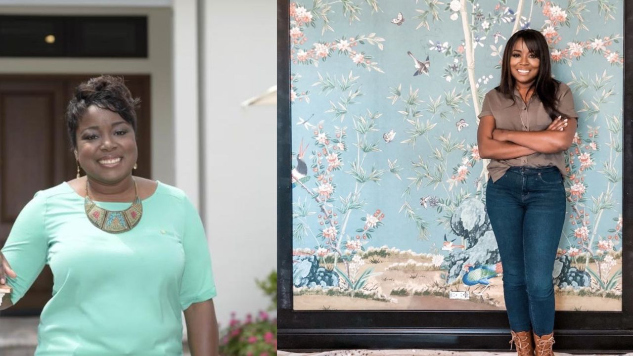 Tiffany Brooks before and after weight loss.