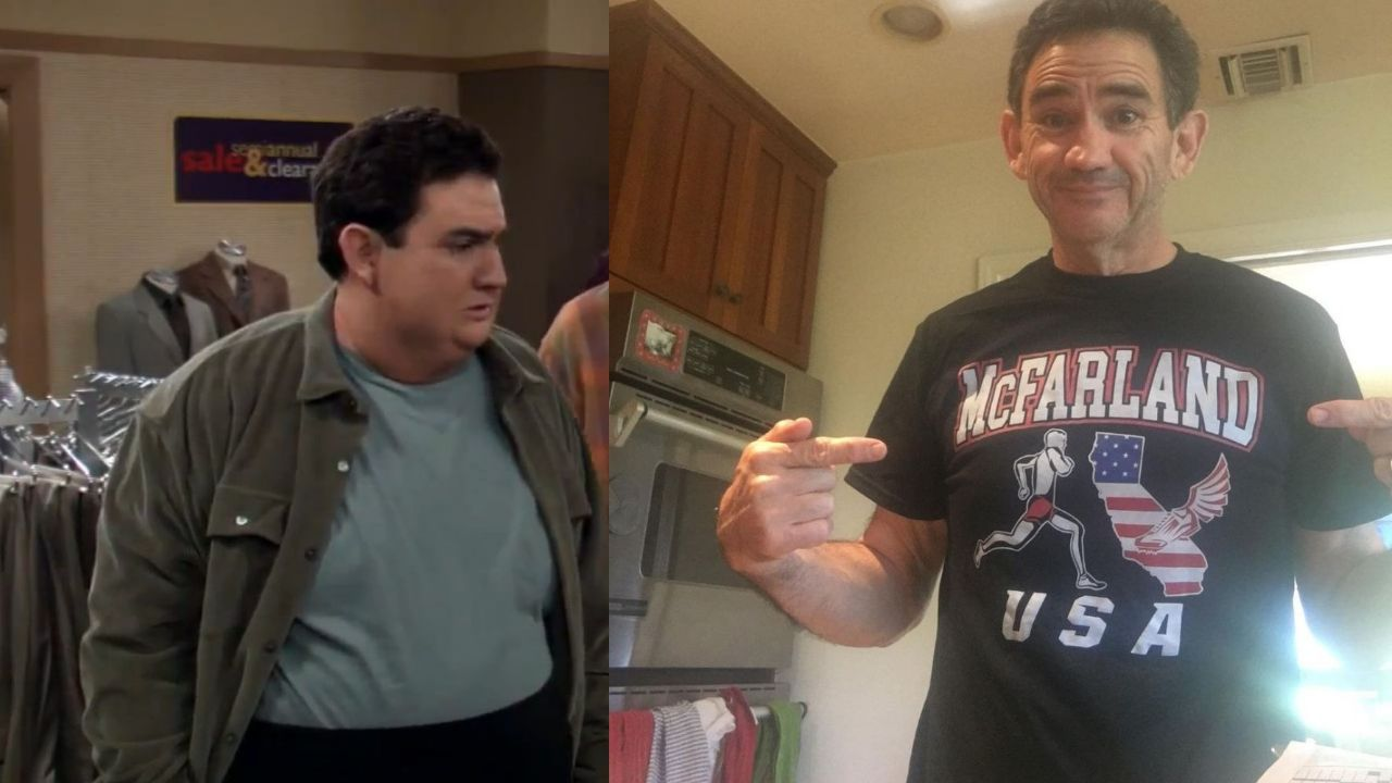 Valente Rodriguez before and after weight loss.
