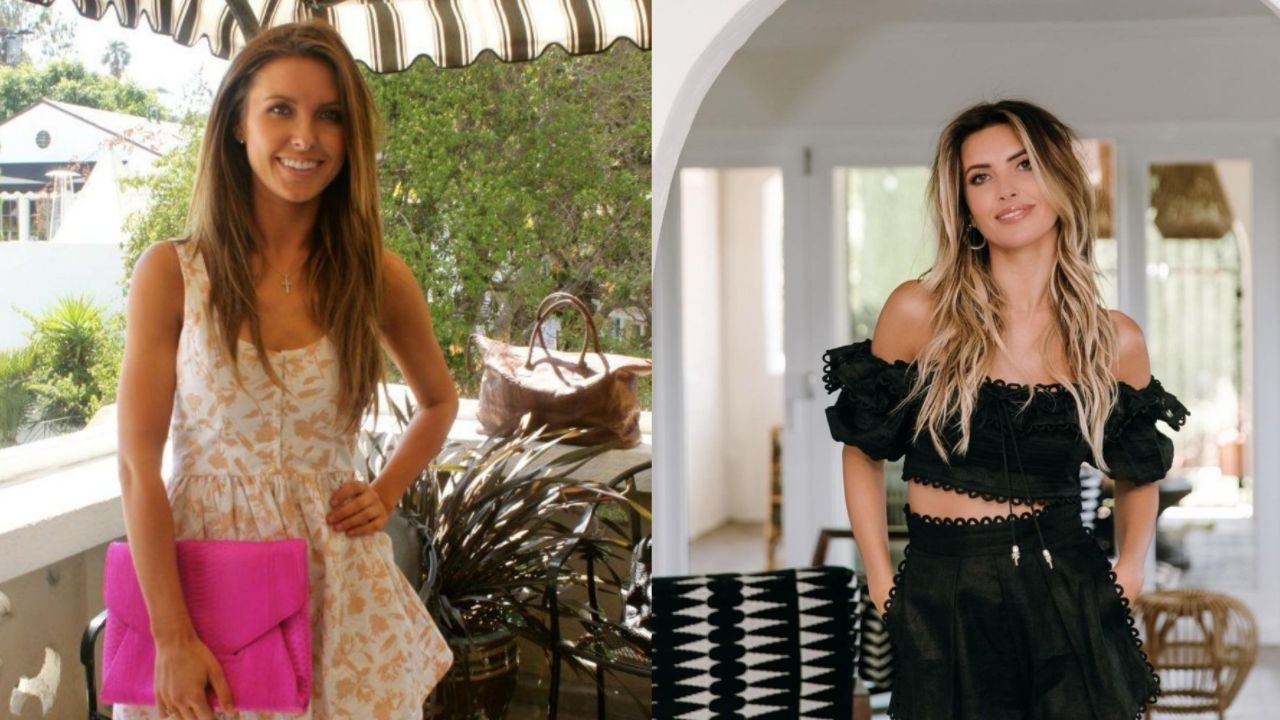 Audrina Patridge before and after plastic surgery.
