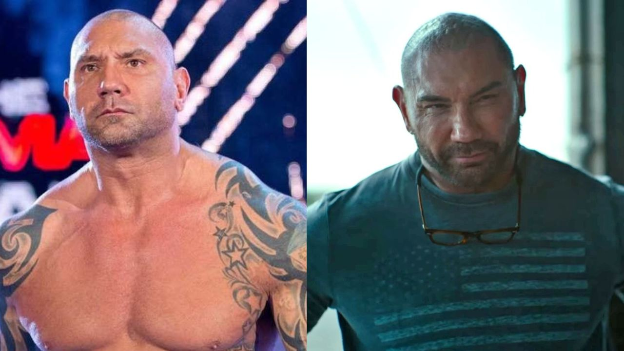 Dave Bautista before and after plastic surgery.