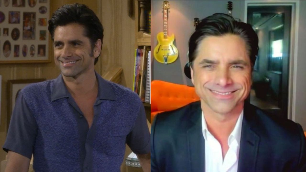 John Stamos before and after plastic surgery.