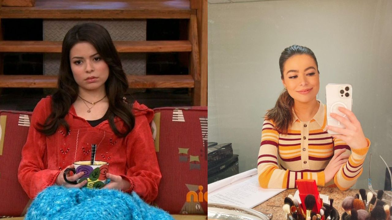 Miranda Cosgrove before and after plastic surgery.