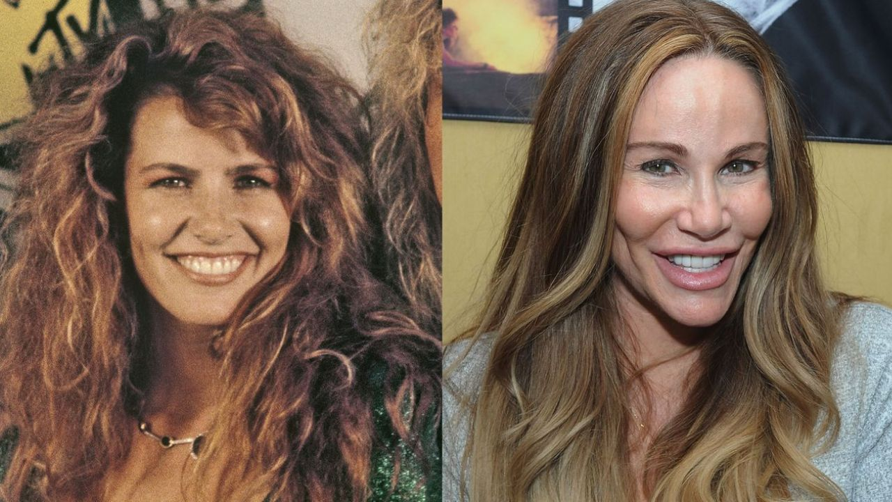 Tawny Kitaen before and after plastic surgery.