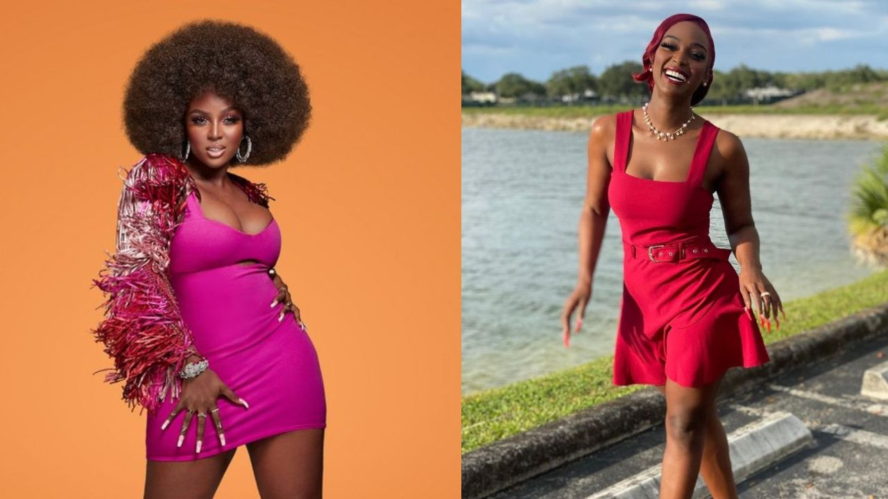 Amara La Negra before and after 35 pounds weight loss.