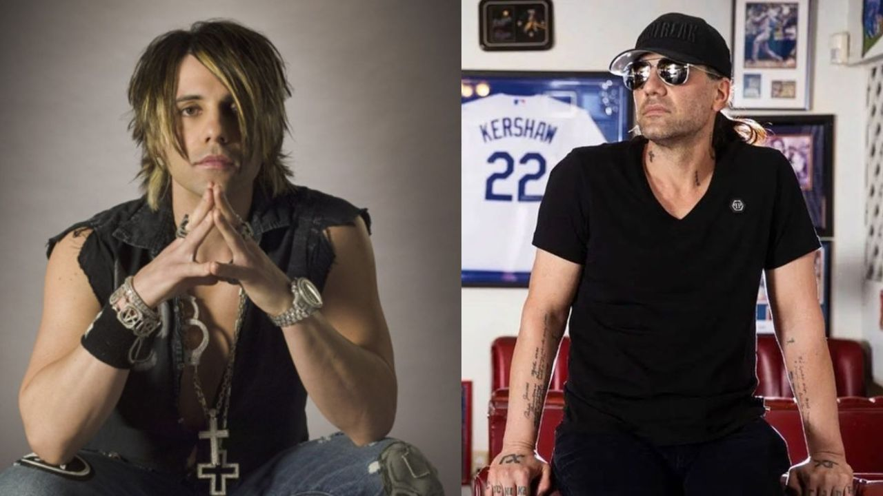 Criss Angel before and after plastic surgery.