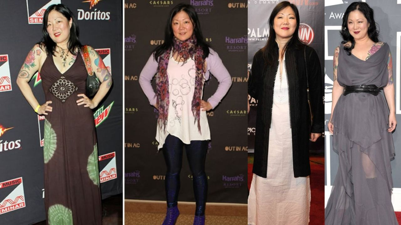 Margaret Cho before and after weight loss.
