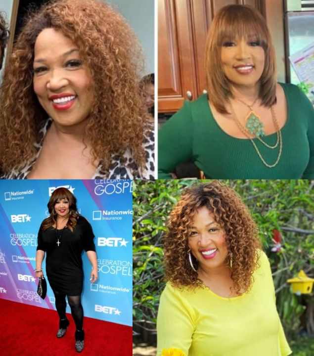 Kym Whitley before and after 25 pounds weight loss.