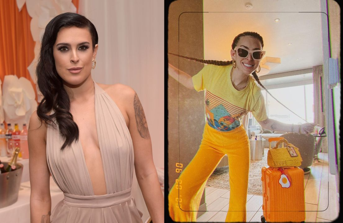 Rumer Willis before and after weight loss.