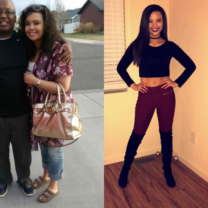 'Bachelor in Paradise' alum Maurissa Gunn before and after weight loss.