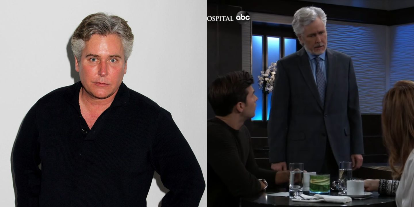 Michael E. Knight before and after weight loss.