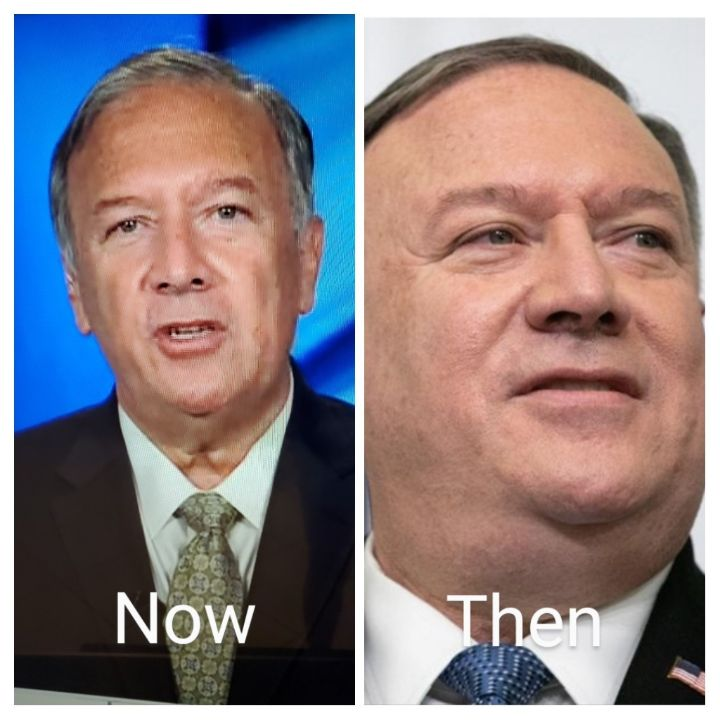 Mike Pompeo before and after weight loss.