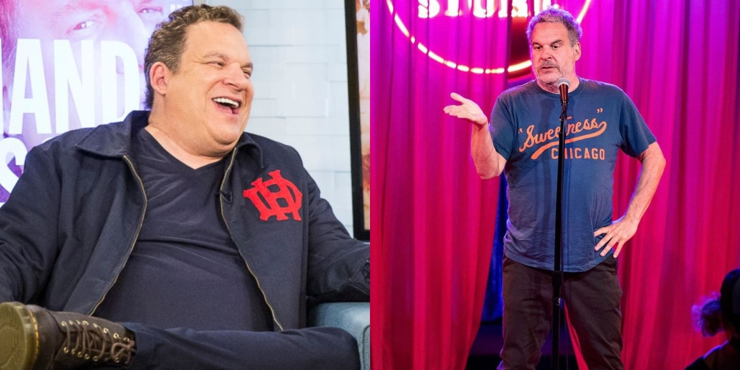 Jeff Garlin before and after weight loss.