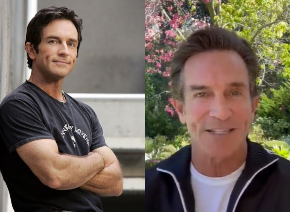 Jeff Probst before and after suspected weight loss.