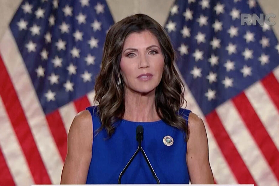 Kristi Noem's Plastic Surgery Couldn't Be More Obvious to Viewers