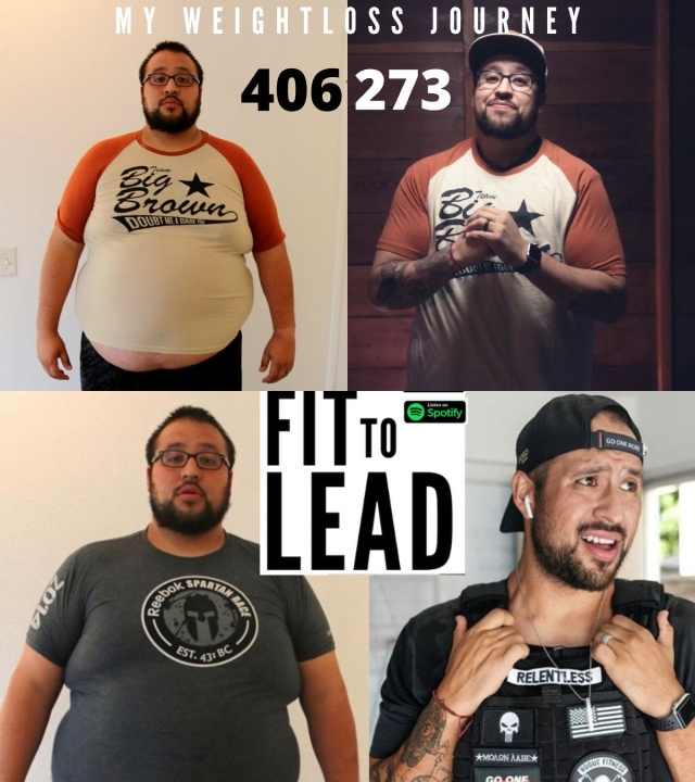 Tony Reyes before and after weight loss.