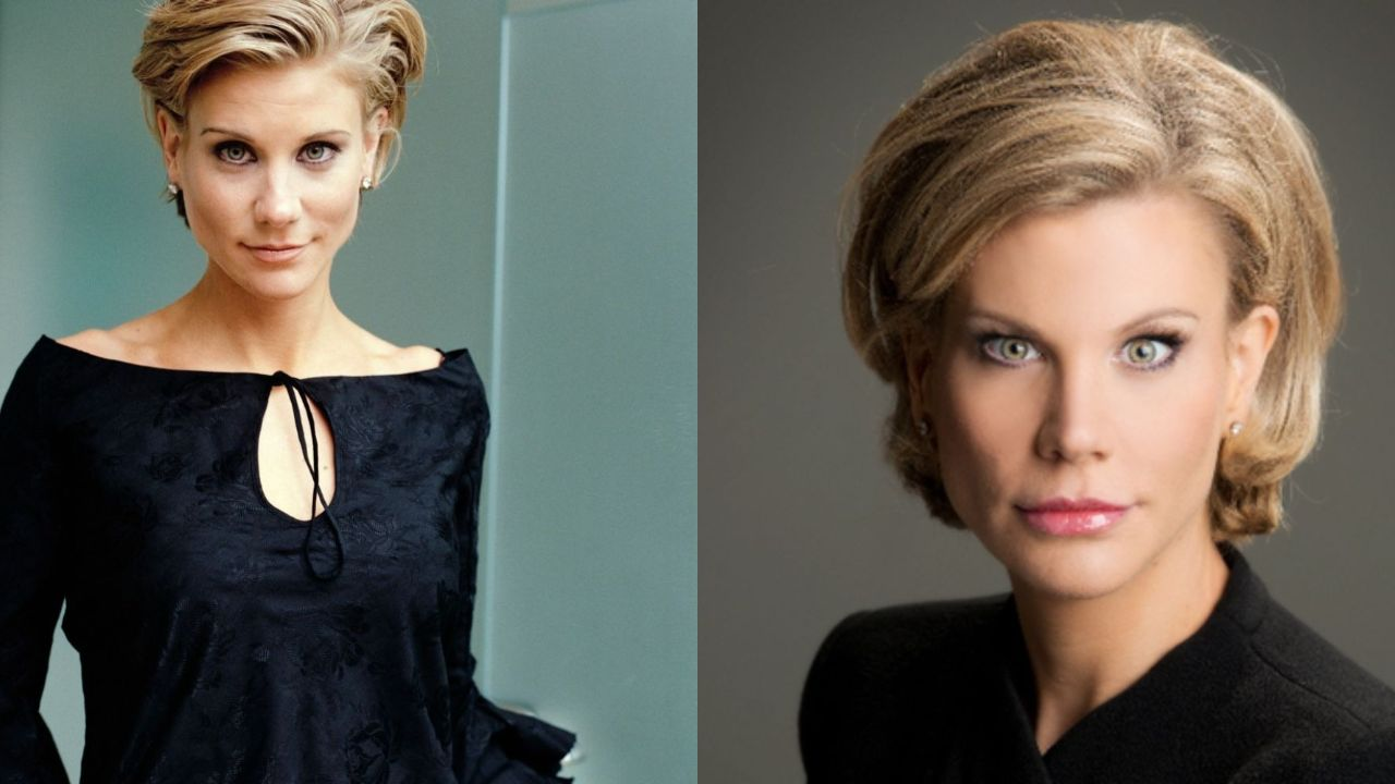 Amanda Staveley before and after alleged plastic surgery.