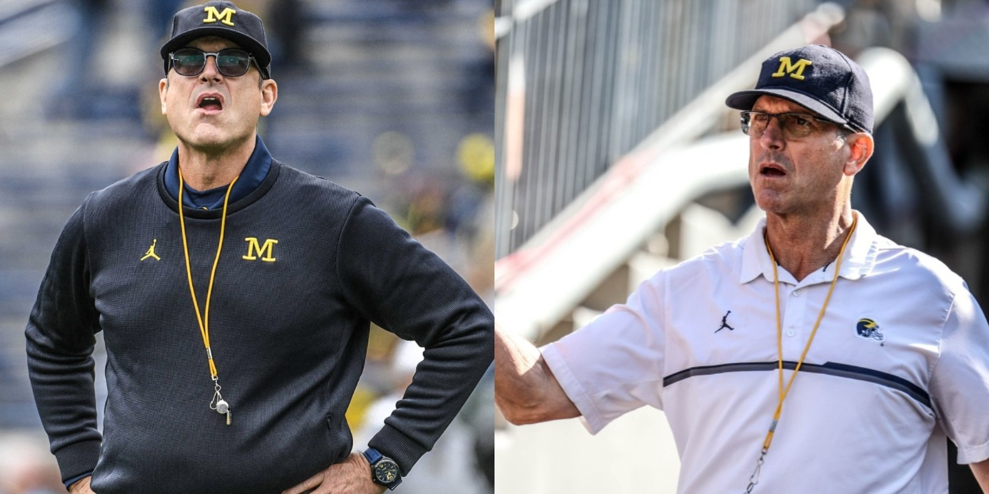 Jim Harbaugh before and after weight loss.