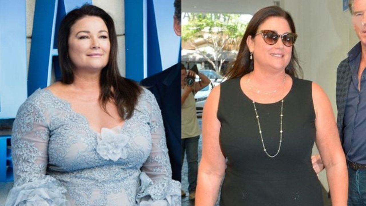 Fans are eager to witness Pierce Brosnan's wife Keely Shaye Smith's before and after weight loss photos in 2021.