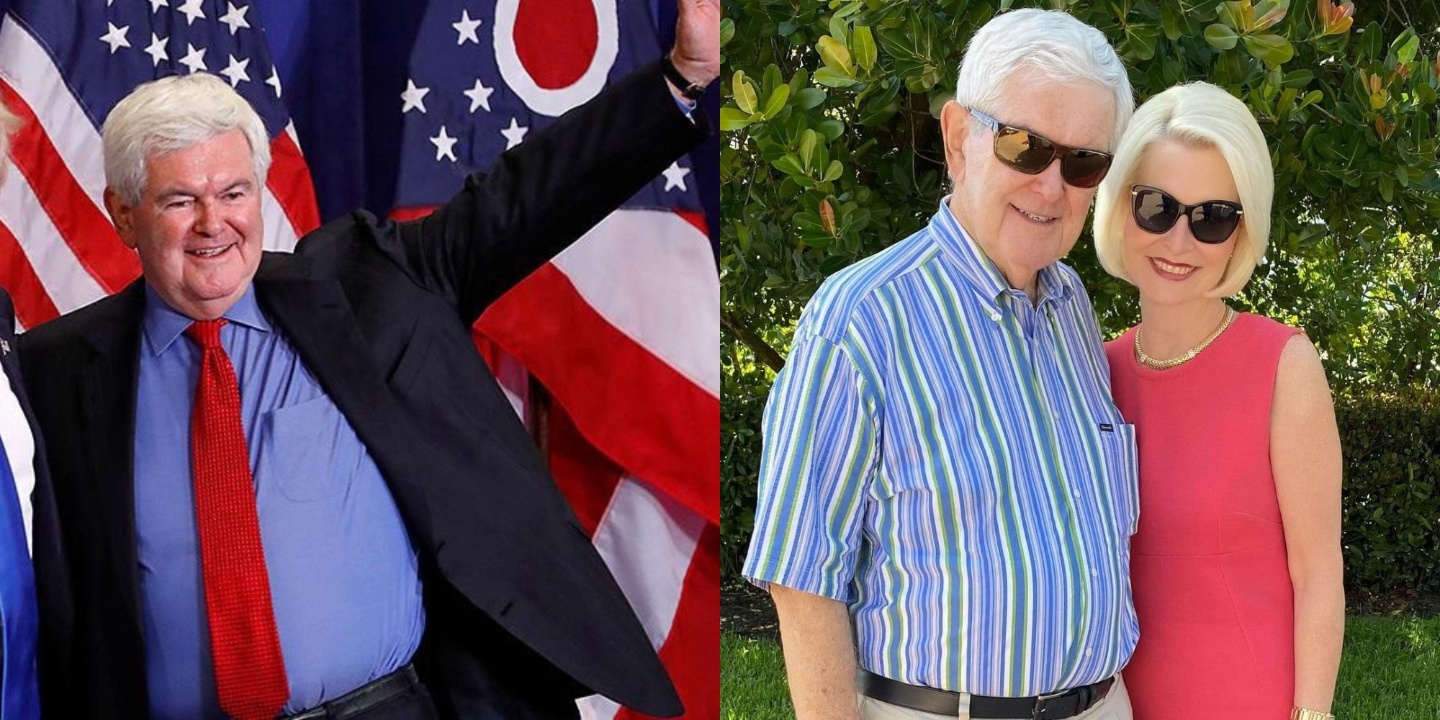 Fans want to check out Newt Gingrich's before and after weight loss photos in 2021.