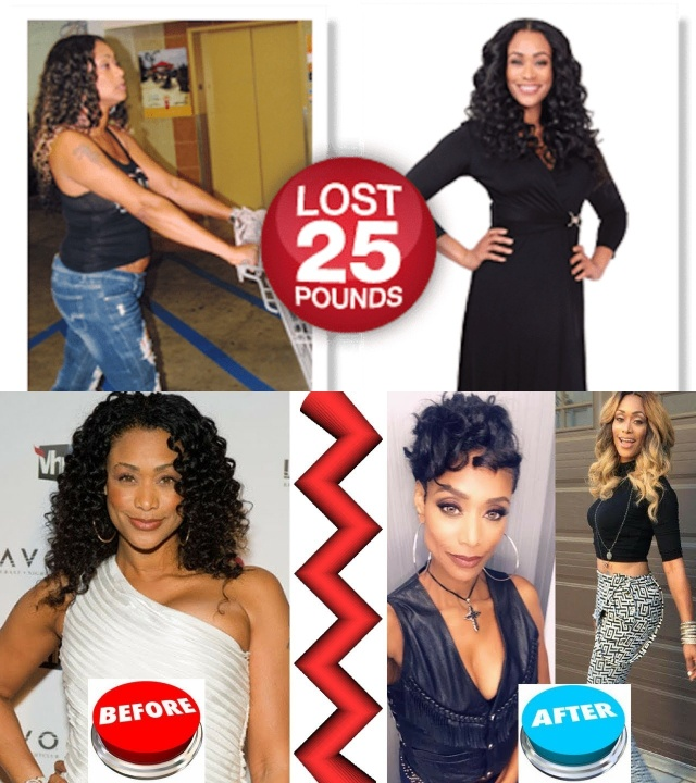 Tami Roman before and after weight loss.